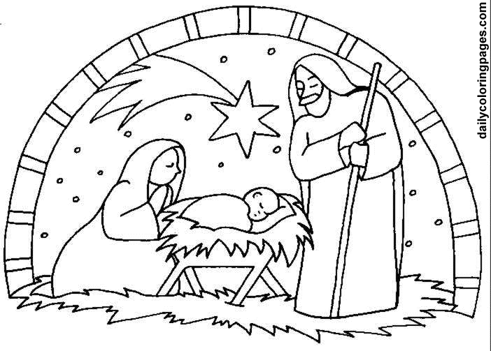 baby jesus in a manger coloring page free printable coloring pages gallery