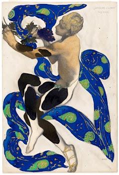 Bakst 'Nijinsky as a Faun' (1912)