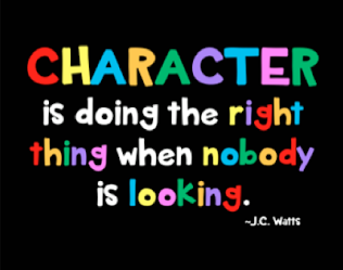 Character is...
