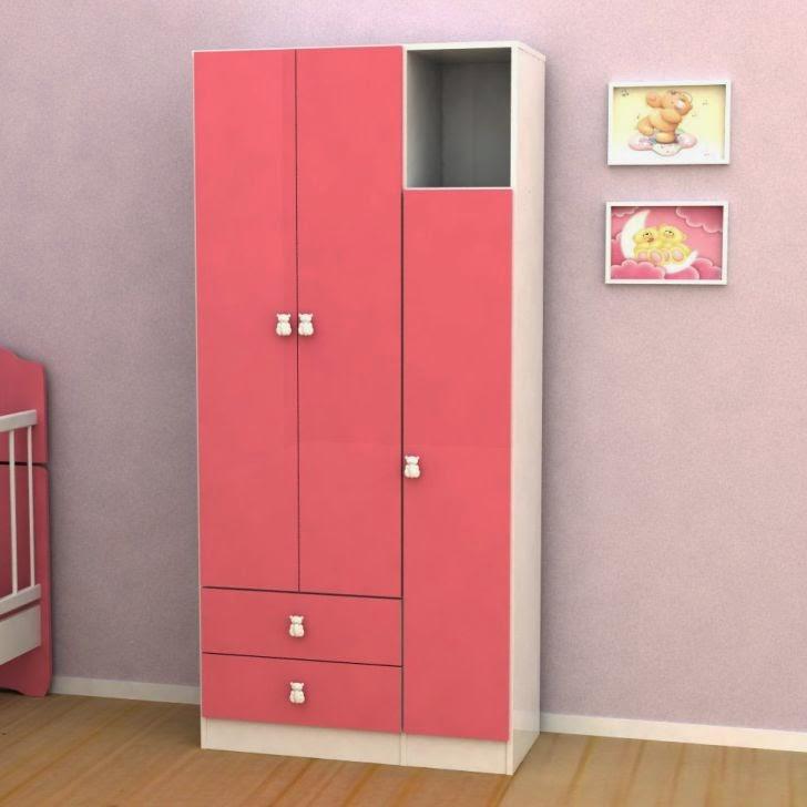 Guarda Roupa Rosa ~ Guarda roupa infantil Modelos