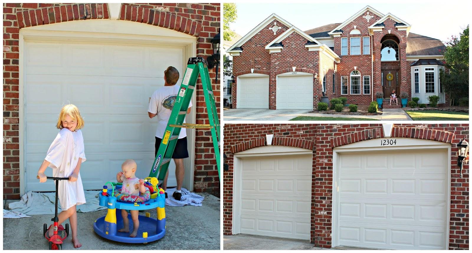 Carolina on my mind painted garage doors for Painted garage doors pictures