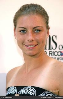 Hot Russian Tennis Player Vera Zvonareva