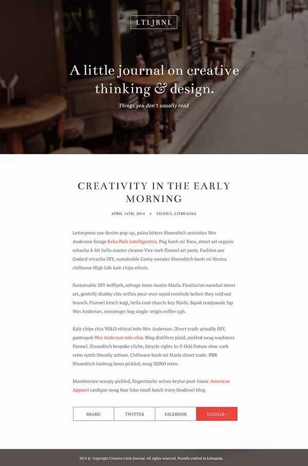 Designing an Elegant Blog Layout in Photoshop