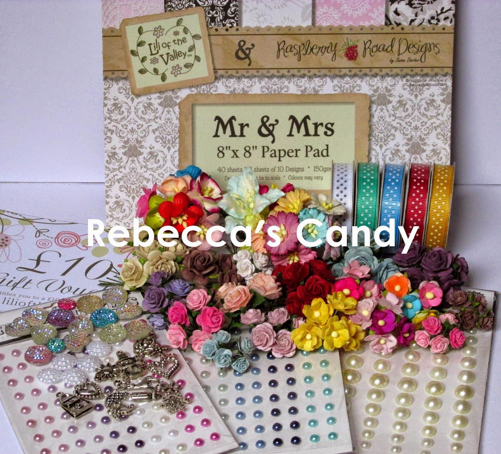 REBECCA'S ANNIVERSARY CANDY