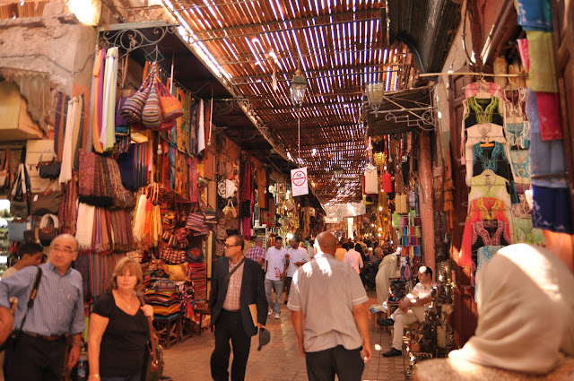 Marrakech Souk Market