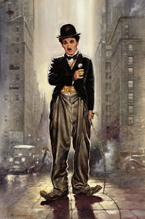 Its funy photo of charlie chaplin...enjoy it