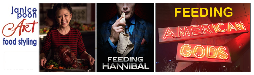 Feeding Hannibal and the American Gods Table