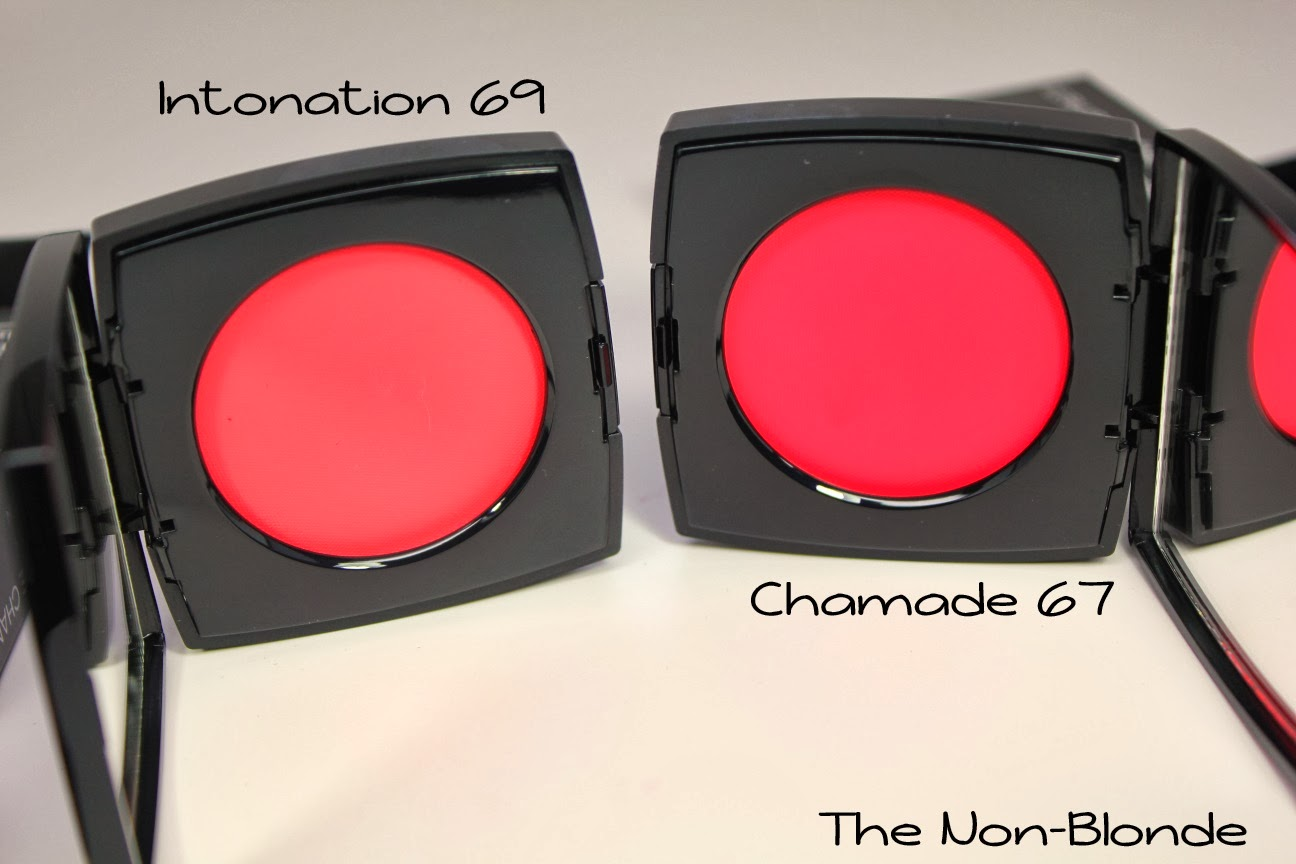 Chanel Chamade & Intonation Le Blush Creme de Chanel Spring 2014 ...