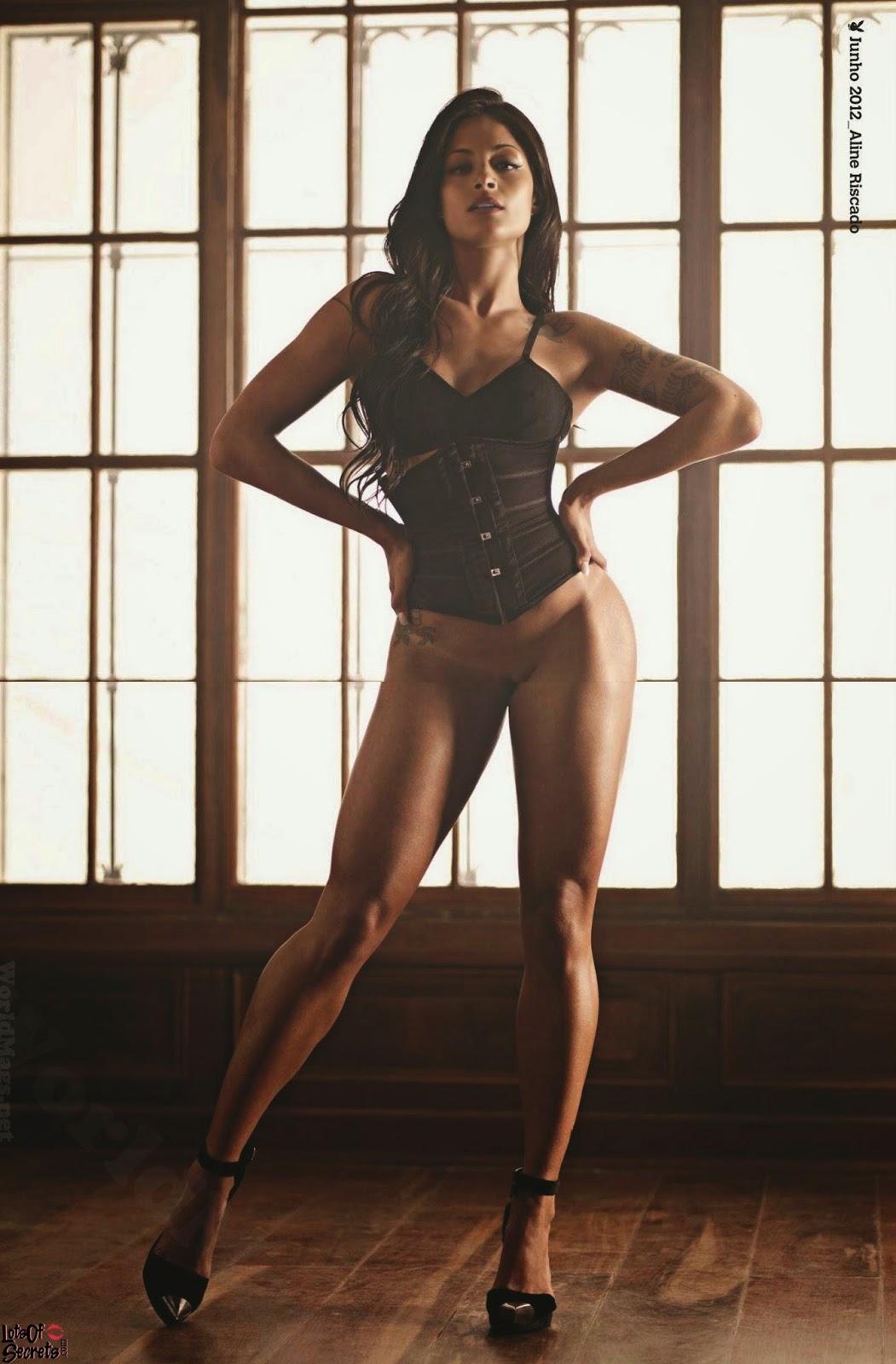 Nude Brazilian Divas Aline Riscado