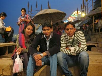 Gaurav, Divyam and Kriti