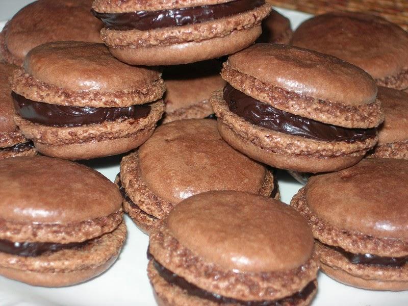 Recette de macaron au chocolat