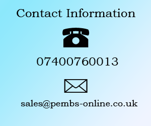 Contact Pembs online store
