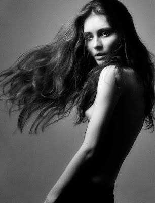 Masha Zakurnaeva: test shoot by Tom Tom Msk