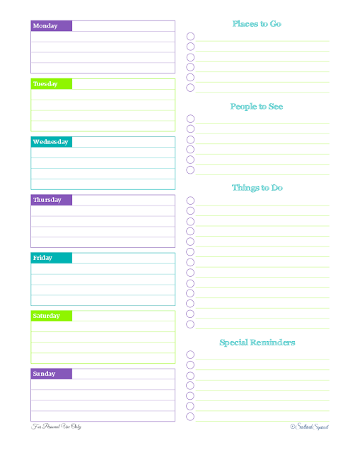 free printable, weekly planner, time management, to do list