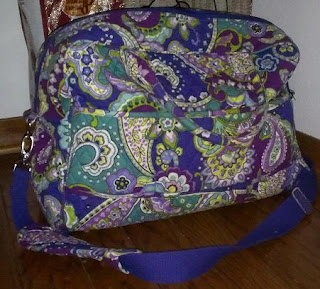 floral large dance bag