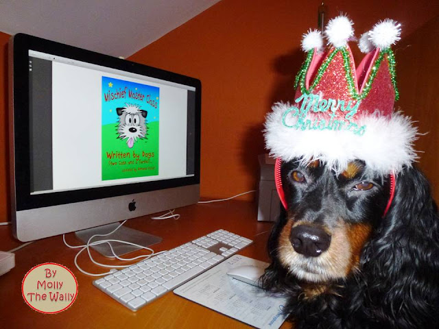 Molly The Wally Does Snoopys' Book Review 1!