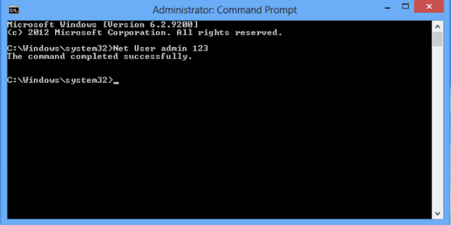 crack windows 7 password command prompt