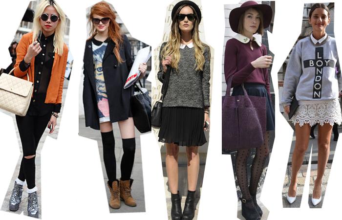 Moda londinese dallo street style all\u0027armadio