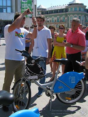 Противоугонная система велосипеда