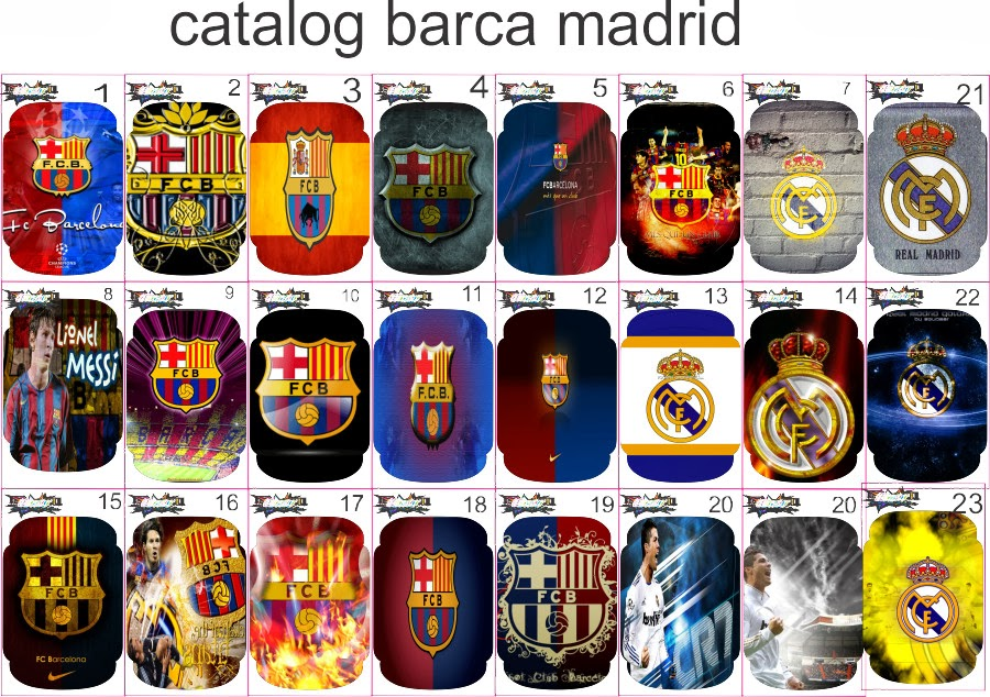 garskin barcelona garskin real madrid