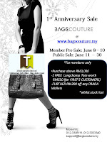 Bags Couture 1st Anniversary Sale