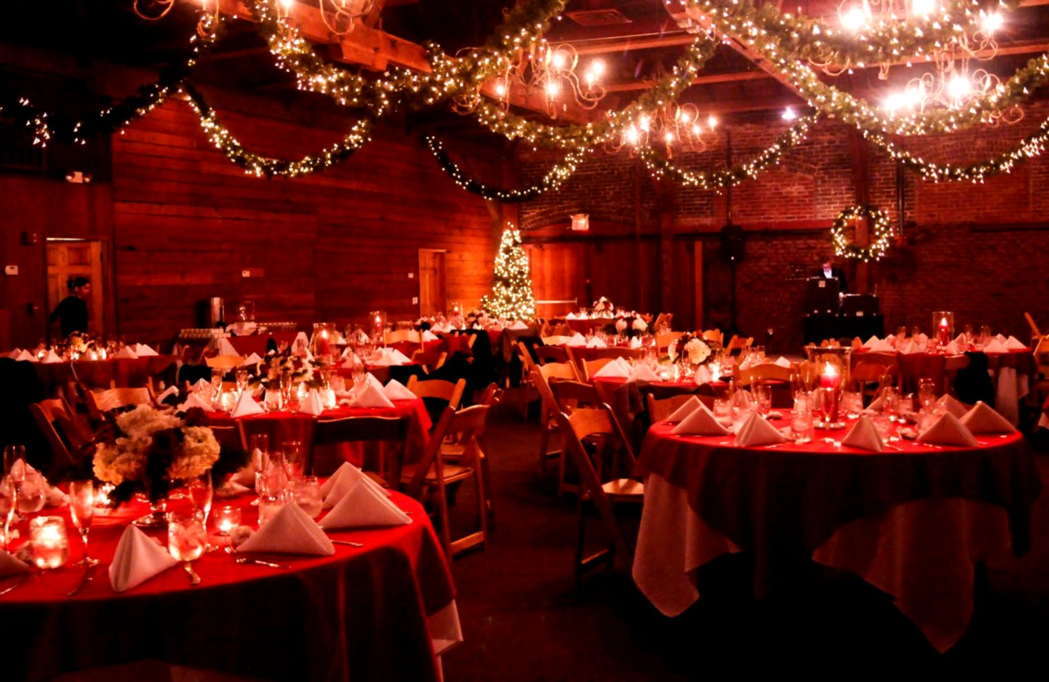Christmas Wedding Decorations For Reception On Decorations With