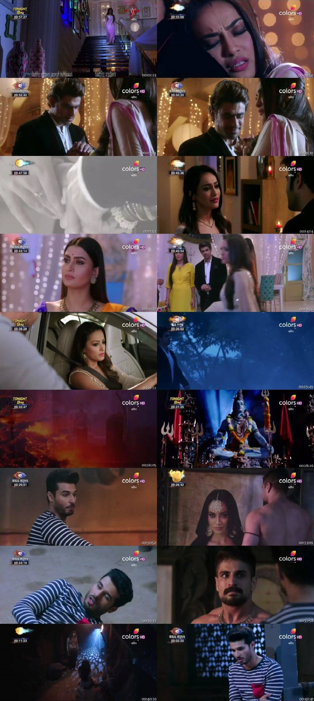 Screenshots Of Hindi Show Naagin Season 3 2018 Episode 33 300MB 480P HD