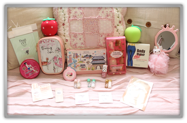 Etude House Haul Review accessories decor kawaii cute pink ebay beauty korean cosmetics dreaming blur nail etti