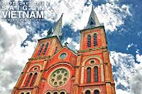 Saigon Notre Dame Basilica, Ho Chi Minh City, Vietnam, Church, Cathedral, Catholic, Asia