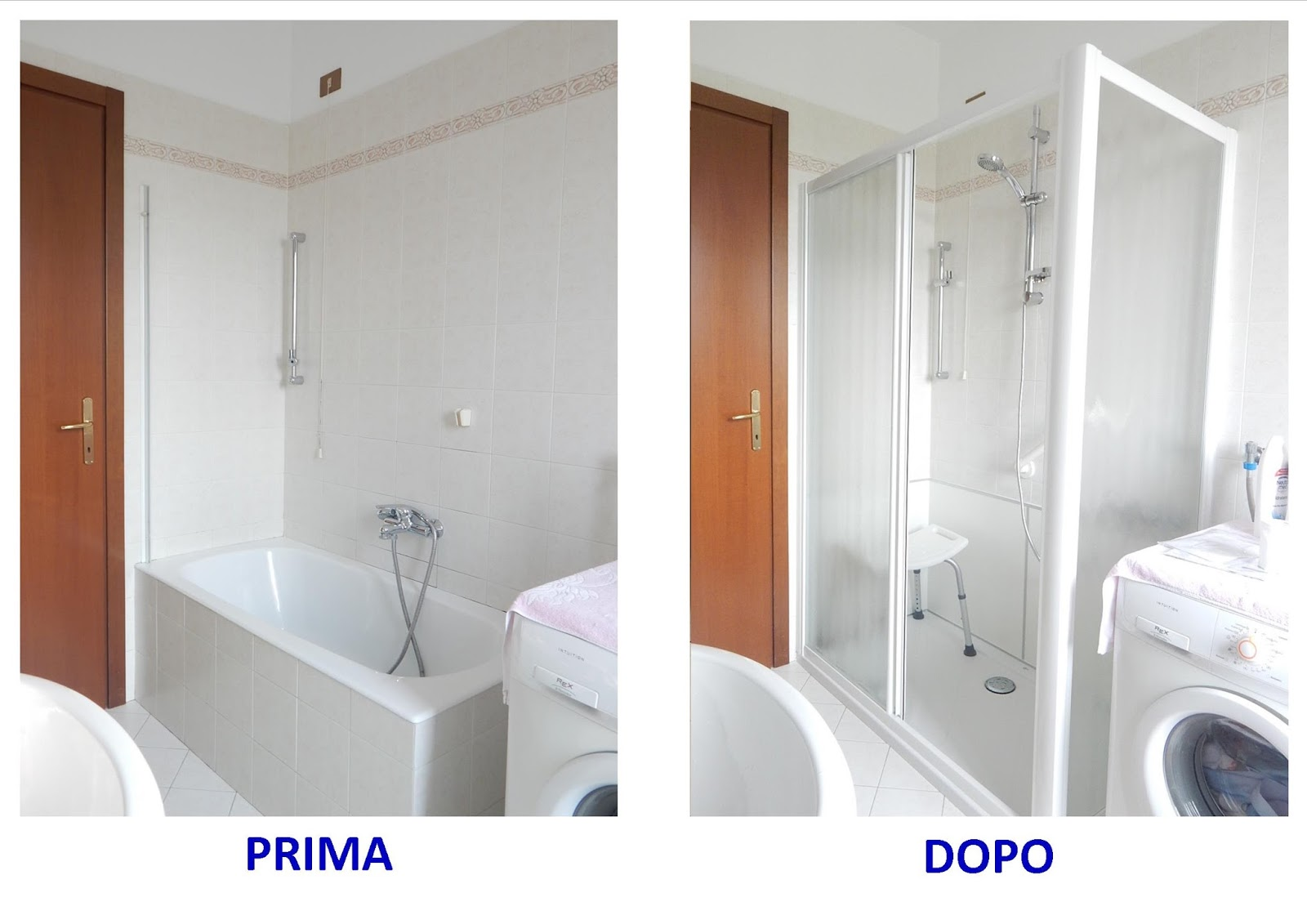 Cambio vasca in doccia - Sostituire vasca con box doccia ...