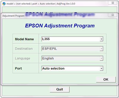 Обнуление принтера EPSON L555 с донорами