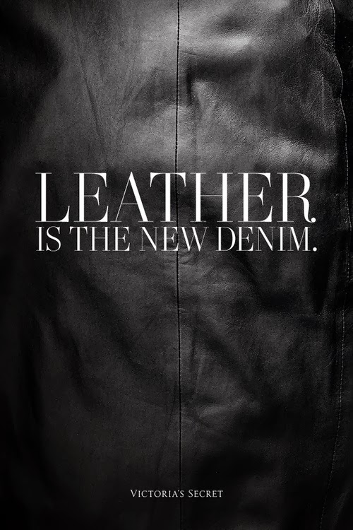 Leather is the new denim - style-rx.ca