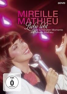 Liebe Lebt: das Beste Von Mireille Mathieu. 3 DVD's