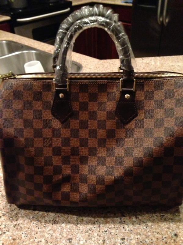 Louis Vuitton Damier Speedy 35