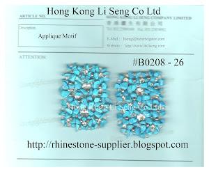Applique Motif Supplier - Hong Kong Li Seng Co Ltd