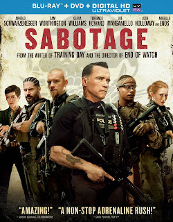 Sabotage 2014 DVD and Blu-Ray Cover