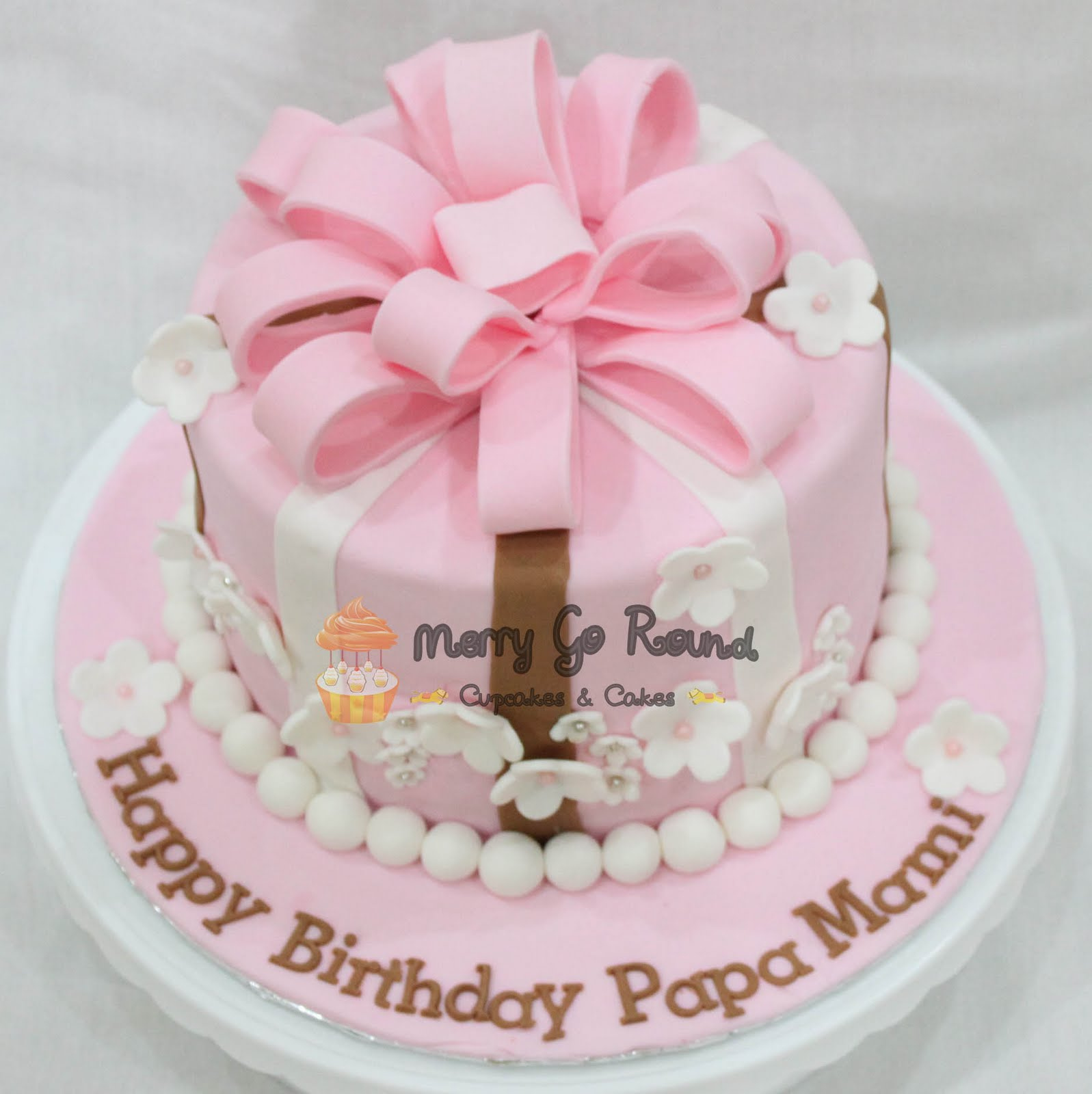 Birthday Cake Gift Images : Merry Go Round - Cupcakes & Cakes: Pearly Gift Box ...
