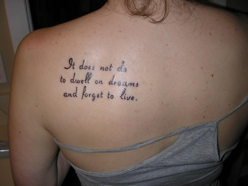 Good Tattoo Quotes