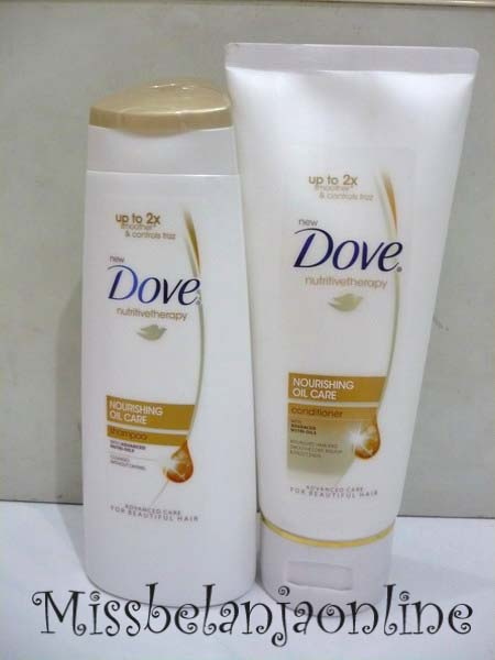 nya dove shampoo