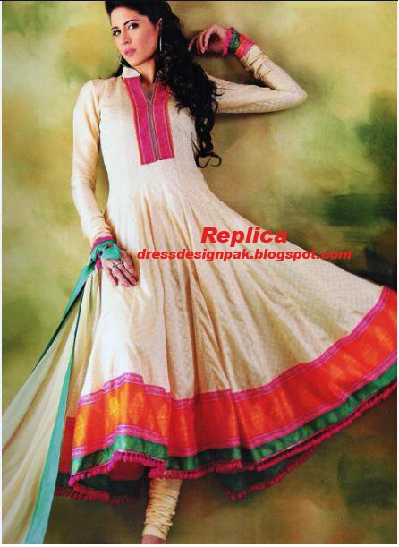 Designer Dresses Pakistan Semi Formal Wear Cotton Dress