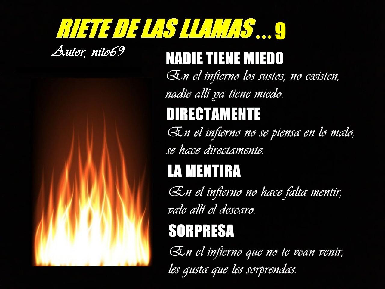 RIETE DE LAS LLAMAS...9