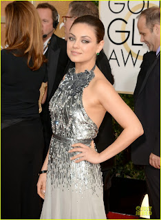 Mila Kunis Golden Globes