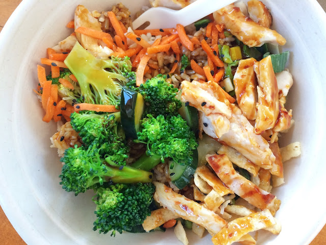 Teriyaki Bowl at Freshii