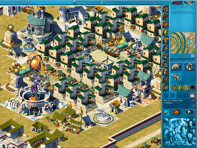 Poseidon: Master of Atlantis - Science Buildings Screenshot
