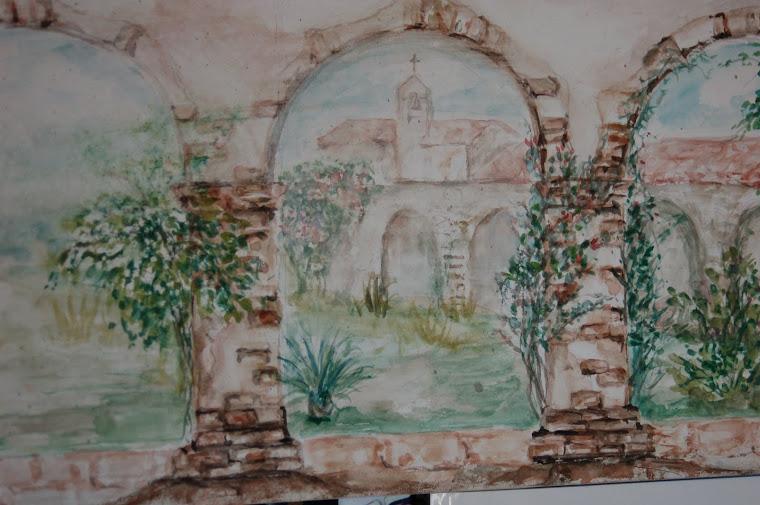 Mission San Juan Capistrano Arches