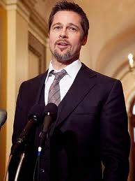 الممثل الامريكي Brad Pitt