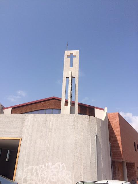 Iglesia del Salvador que Paco había construido