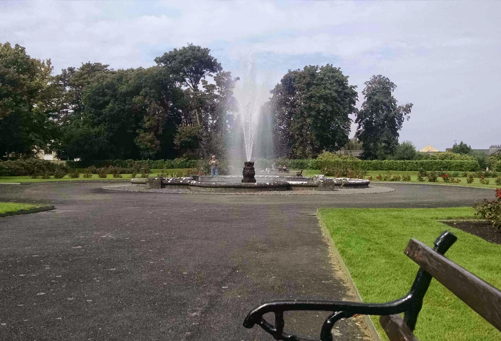 kilkenny castle garden fountain