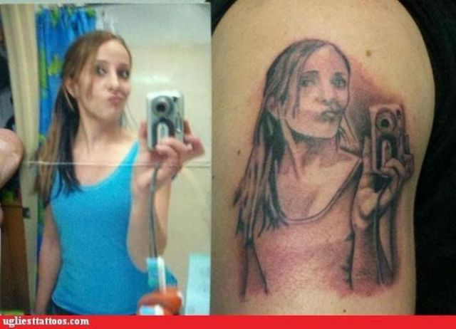 Tumblr tattoo tattoos gone wrong show for Face tattoos gone wrong