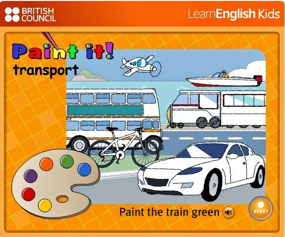 http://learnenglishkids.britishcouncil.org/en/word-games/paint-it/transport